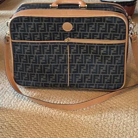 fd9e70b78 Fendi Bags | Small Neat Travel Bag Authentic Great Cond | Poshmark